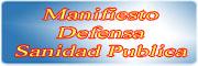 Manifiesto Defensa Sanidad Publica